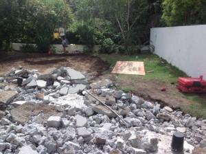 Redesigning the backyard in Calabasas