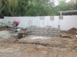 Backyard contractor